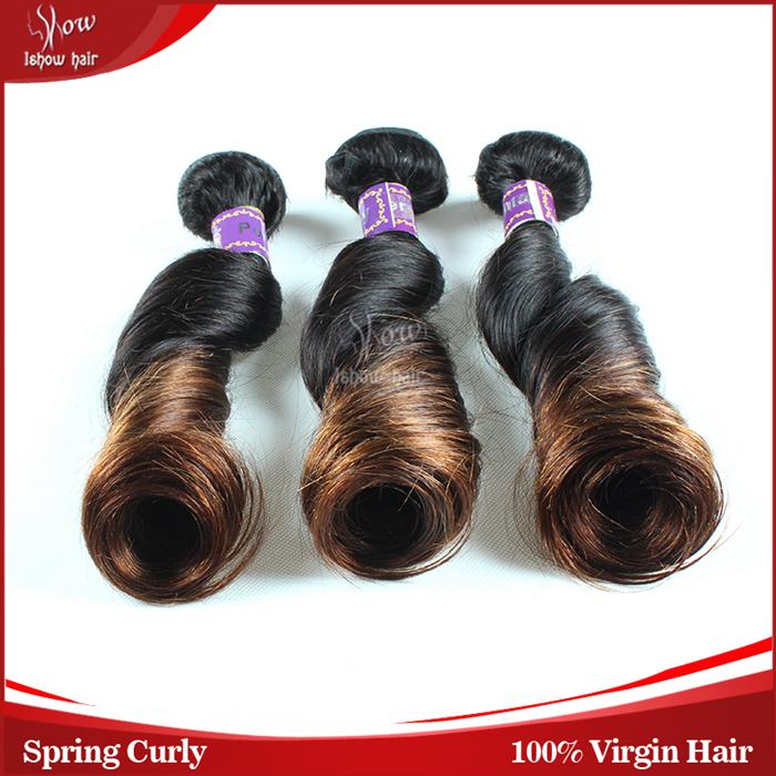 grade 7A unprocessed virgin peruvian hair ombre romance curl virgin hair wholesale human weave hair 3pcs lot IShow hair products<br><br>Aliexpress