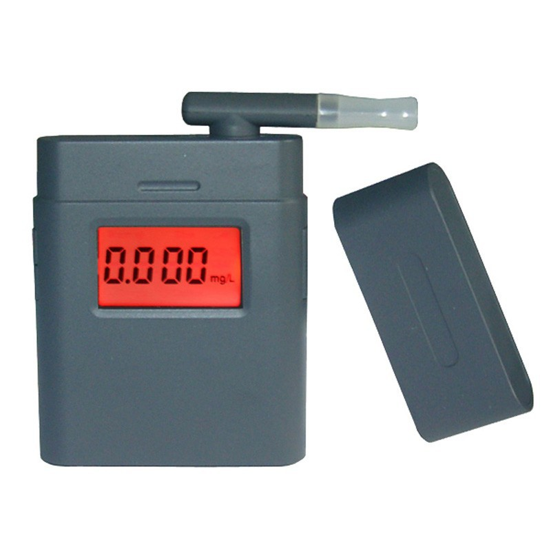 2015 Patent Factory 360 Degree Rotating Mouthpiece LCD Display Digital Breath Alcohol Tester Breathalyzer Driving BAC Analyzer(China (Mainland))