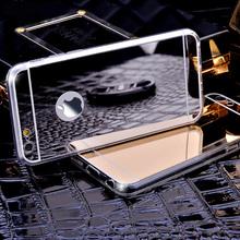 Роскоши зеркало гальваника мягкая ясно тпу телефон чехол для iPhone 5 5S 6 6 s 6 s плюс 6 плюс для Samsung S6 задняя крышка чехол
