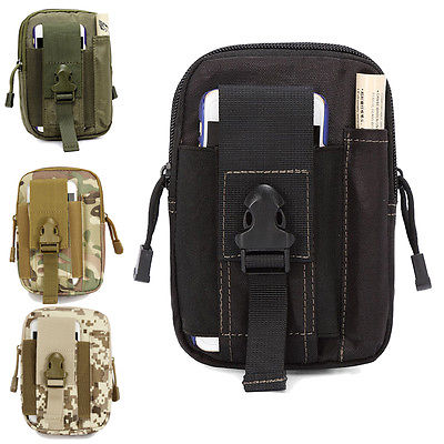Men Military Waterproof Waist Pack Purse Mini Bag Hot Fashion Lady Pouch