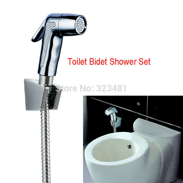 buy high quality portable toilet bidet shattaf shower set including abs bidet. Black Bedroom Furniture Sets. Home Design Ideas