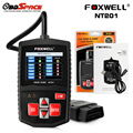 OBD2 Scanner FOXWELL NT201 Multi languages OBD 2 Diagnostic Tool Fault Code Reader NT201 Better Than