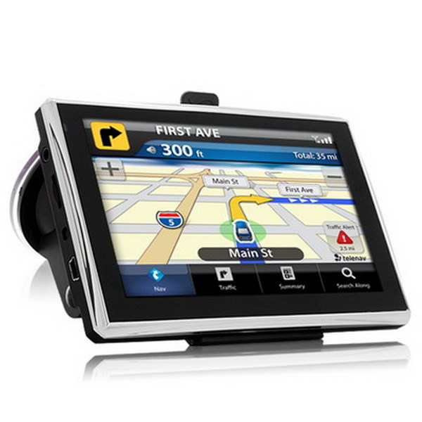 5 inch bluetooth gps navigation with 2.5mm av in access support wireless rearview camera(China (Mainland))