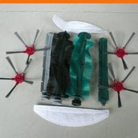 Robot vacuum cleaner SQ-A360 Spare parts: side brush 4pcs+rubber brush 2pcs+bristle brush 2pcs