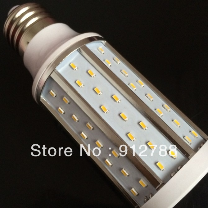 10pcsx E27 12W 120SMD 3014 Corn Light Bulb White/Warm White Indoor light 85-265V/AC 360 Degree Free shipping<br><br>Aliexpress