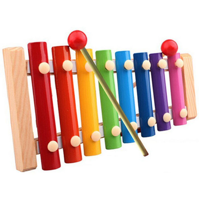 Selljimshop Baby Kid Musical Toys Xylophone Wisdom Development Wooden Instruments(China (Mainland))