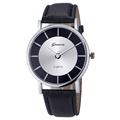 2017 Women Geneva Watch Casual Sports Clock Quartz Wristwatches Mens Retro Leather Analog Big Dial Watches