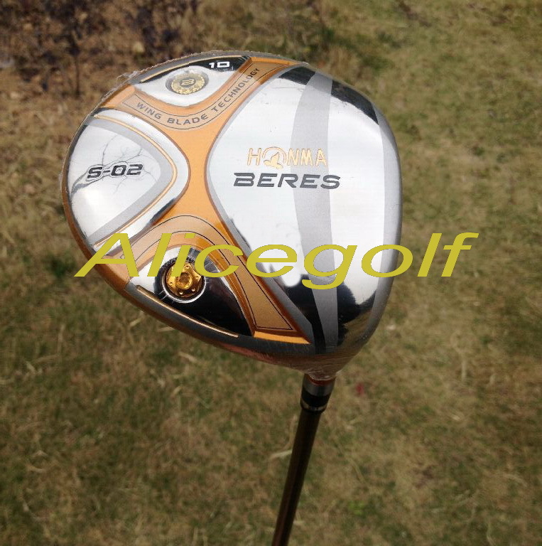 New golf driver 4 stars Honma Beres S-02 9 or 10 degree with stiff or Regular shaft japan golf clubs<br><br>Aliexpress