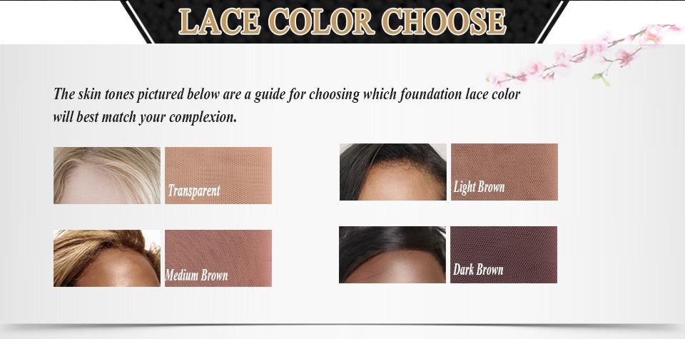lace color choose