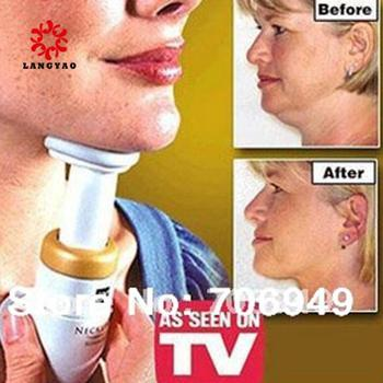 6pcs  Women Beauty Chin Massage Body Slimming Neckline Chin Massager Healthy Care With Opp Bag As Seen On TV New 2015 -- MTV22