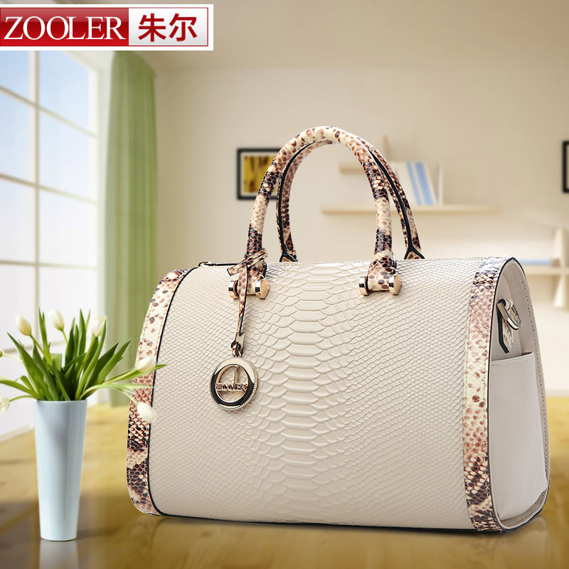 Zooler handbags Crossbody genuine leather bag Boston Pillow desigual bolsas femininas women shoulder bags famous brand(China (Mainland))