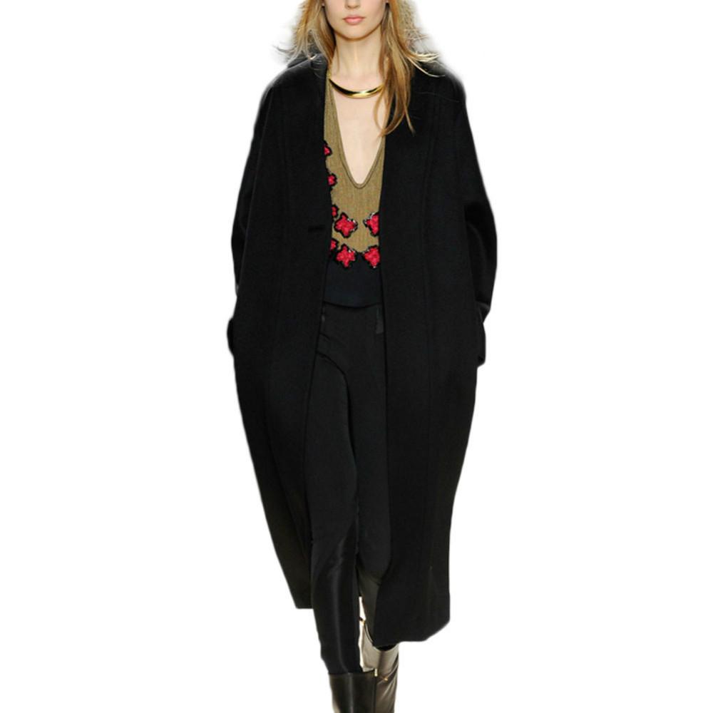 Гаджет  New 2015 Spring Autumn Wool Coat Long Sleeve Casual Tops Women Cardigan Elegant Length With A hood Loose Sweater 9639 None Одежда и аксессуары