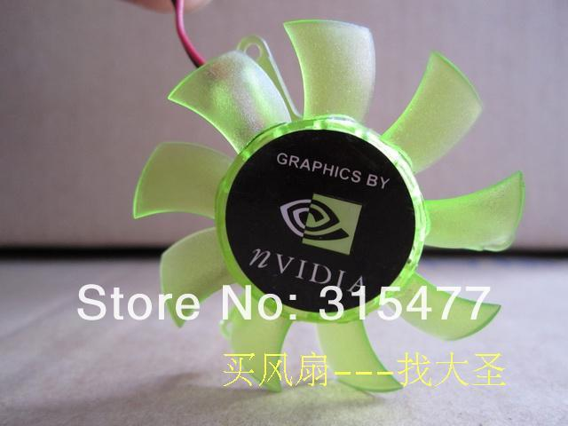 Computer FREE SHIPPING New PC Graphics Card  fan  MAGIC : MGA5012XR-010  DC12V 0.19A  2-wires 2PIN ,