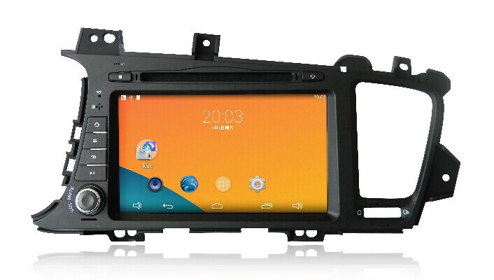 Newsmy head unit car radio cd 8inch NU5241S KIA K5 touch screen 1024*600 resolution android 4.4 pure carpad - HUNAN NEWSMY NAVIGATION TECHNOLOGY CO.,LTD store