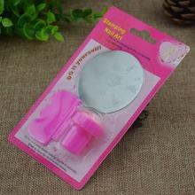 New DIY Nail Art Stamping Set Stamping Nail Art Kit Nail Stamps + Scrapers+Image Plate Retails