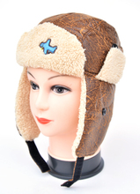2014 Hot Selling Children Winter Hat 2 colors The cortex Unisex Aircraft cartoon pattern Boys And