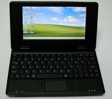7 Inch Mini Netbook Laptop with English, Russian, Spanish and French Keyboard and Android 4.0 VIA 8850 Cotex A9 1.2GHz CPU(China (Mainland))