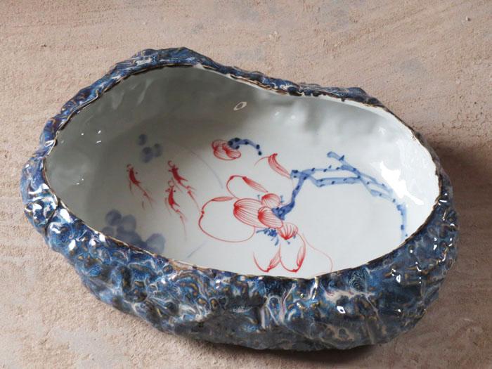 Jingdezhen ceramic fish tank shrimp screw crab turtle(China (Mainland))