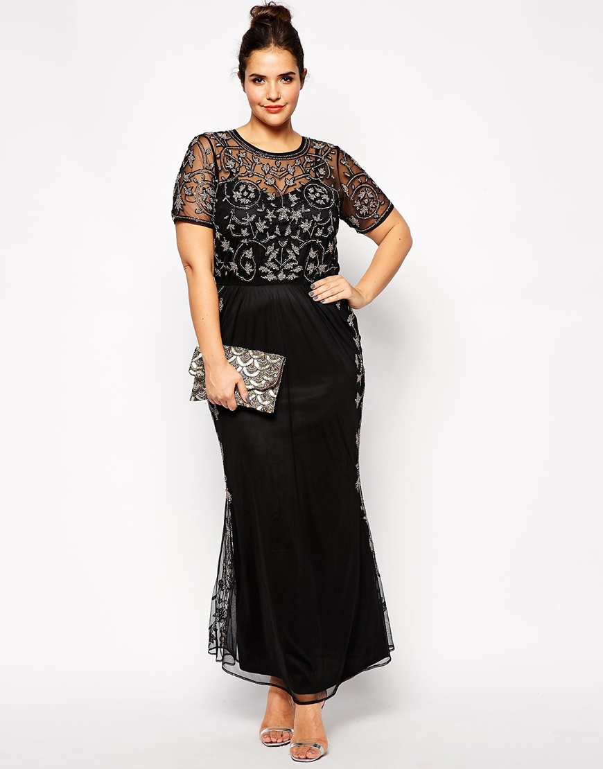 Formal plus size long dresses
