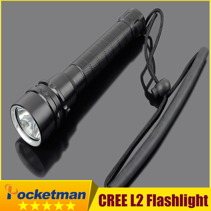 2016 New Arrival High Quality 3xCree XM-L2 LED flashlight Waterproof Flashlight Torch Light For Night Diving Camping Hunting<br><br>Aliexpress