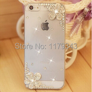 Rhinestone Hard Back Cover Skin Case Cover For iPhone 4 iPhone 4s case cover,New Arrival mobile Phone Case Wholesale retail(China (Mainland))