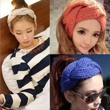 Crochet Headband Knitted Ear Warmer for Adult Women Teen Handmade winter hair accessories