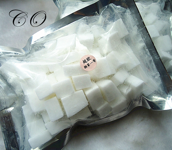 500g/bag Natural White Milk Soap Base Perfect for Diy Handmade Soap Raw Meterial for Soap Making(China (Mainland))