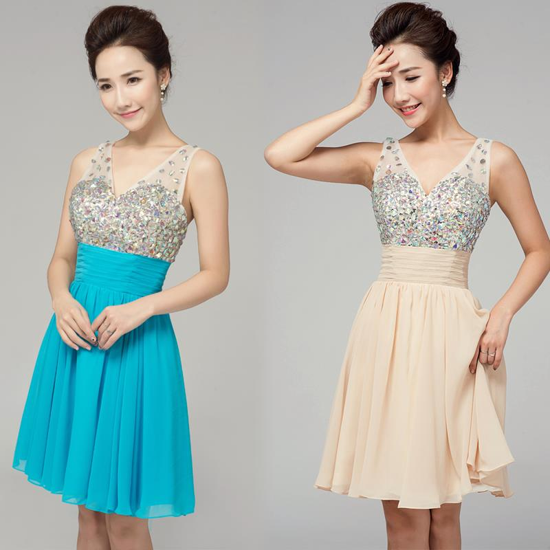 Bridesmaid Dresses 2015 Short Dress Lace Party Vestido de Festa Casamento - Niu-niu Store store