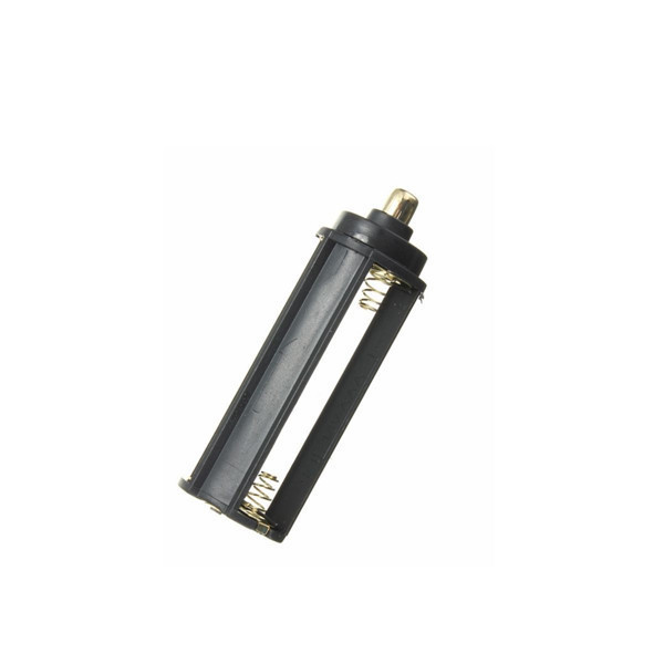 image for High Quality 2 In 1 White Casing 18650 Battery Sheath Tube+ Plastic Ba