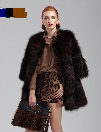 Buy Luxury Brand New Fashion Winter Real Fur Genuine Raccoon Coat ...