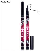 1 Pcs Preto de Longa Duração Eye Liner Pencil Eyeliner Smudge-Proof Cosméticos Beleza Maquiagem À Prova D' Água Caneta Delineador Líquido