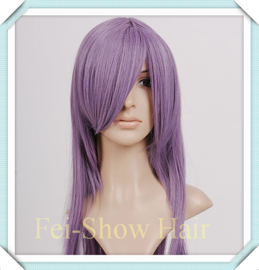 Synthetic Heat Resistant Long Straight Harajuku Anime Cosplay Hair Wig Salon Party Ladies Women Wigs+One Wig Cap<br><br>Aliexpress