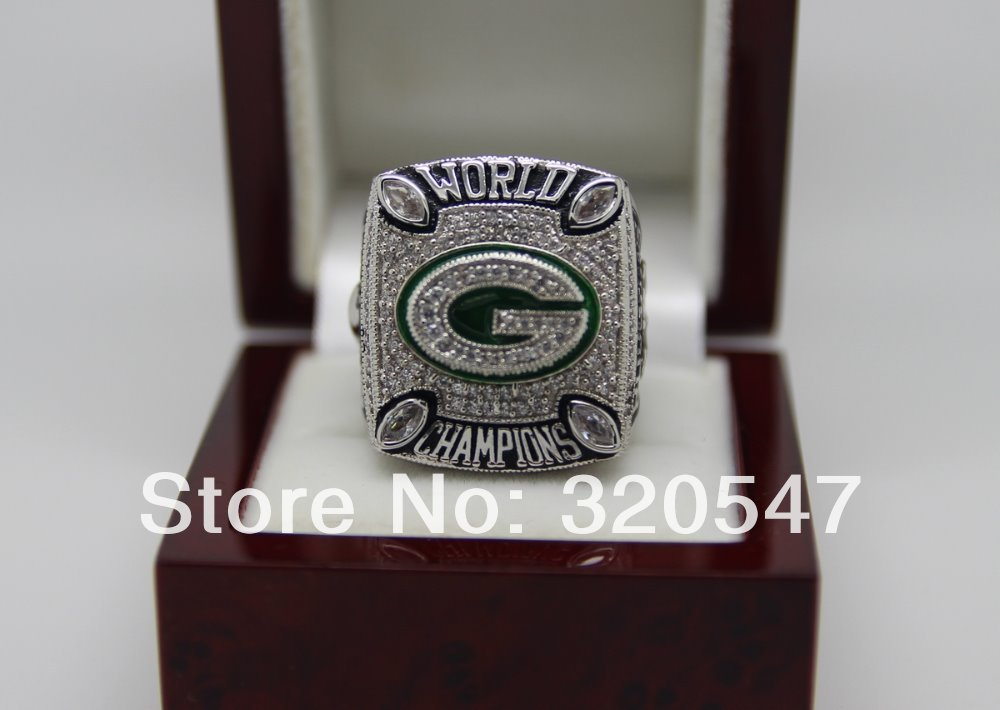 2010 Green Bay Packers NFL Super Bowl World Championship Copper Ring 8-14Size RODGERS Fans Gift Collection - ring store