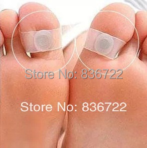 Hot 2015 New Slimming Silicone Foot Massage Magnetic Toe Ring Fat Weight Loss Health Foot care 2 pieces=1 pair Free Shipping(China (Mainland))