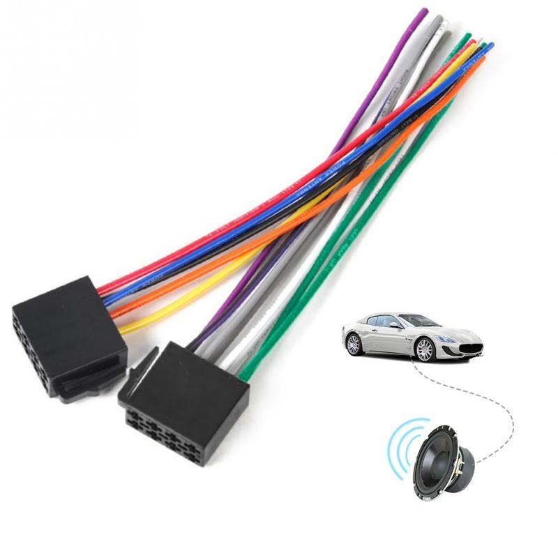 Großhandel Universal Iso Kabelbaum Buchse Adapter Stecker Kabel ...