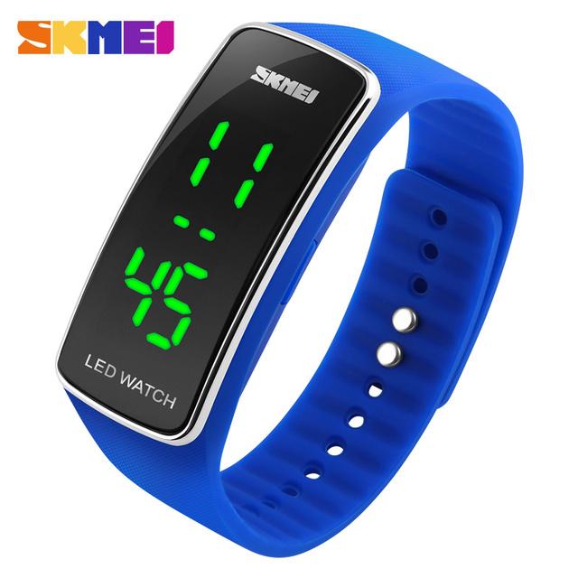 Zegarek ledowy SKMEI sportowa opaska sylikonowy różne kolory