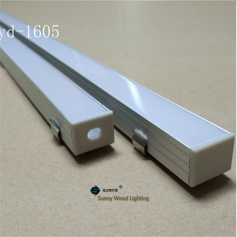 aluminium base LED bar light profile led strip 16mm pcb fittings YD-1605