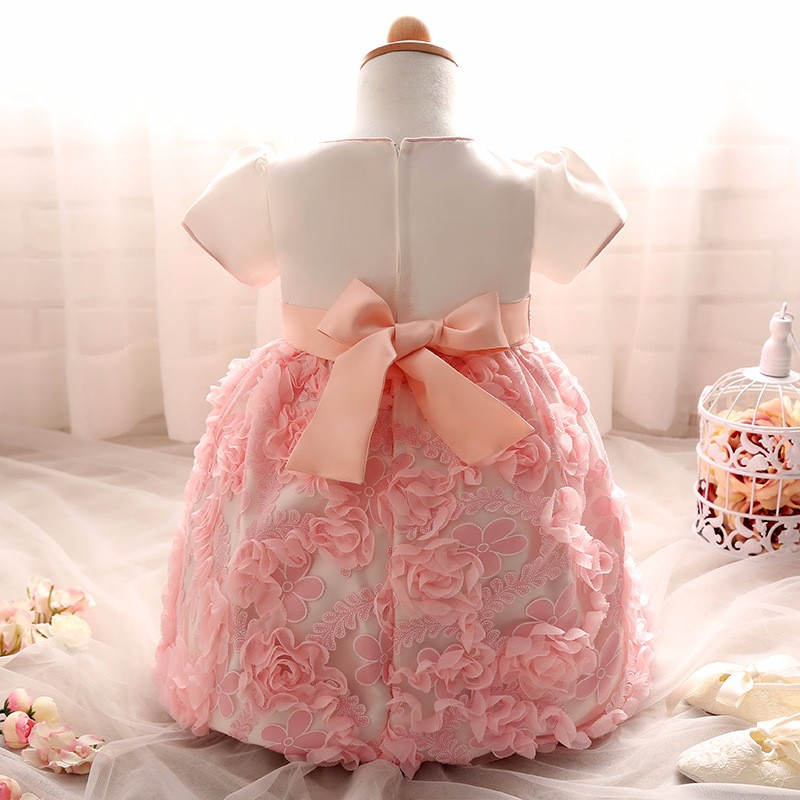 Baby Girls Dress 2016 New Fashion Kids Princess Birthday Party Tulle Wedding Dresses Christmas Dress Newborn Infant Clothes 0-2Y-12