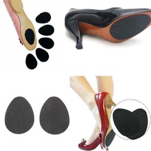 New ! Anti-Slip Self-Adhesive Shoes Mat High Heel Sole Protector Rubber Pads Cushion Non Slip Insole Forefoot High Heels Sticker