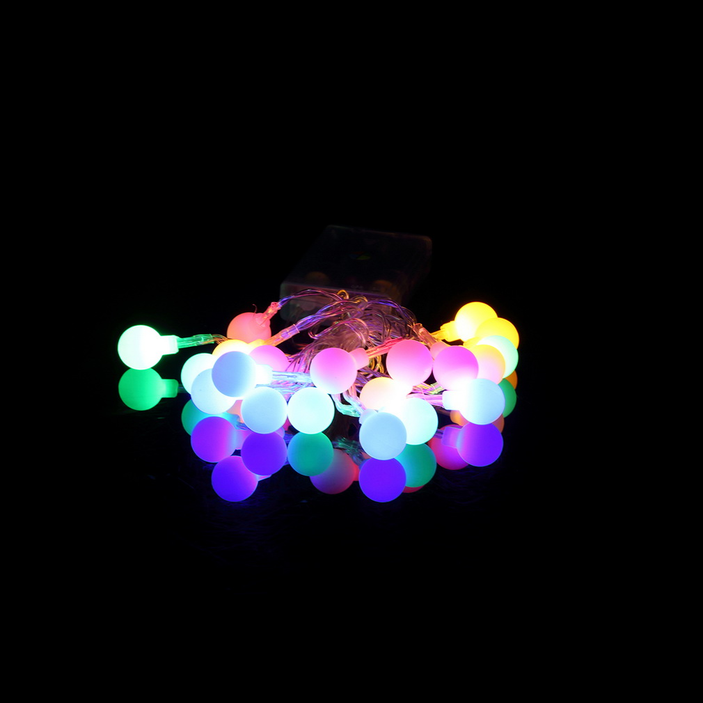 2016 New Long Working time Multi color lamp String Light Christmas Party Decorative Lamp 20 LED ...
