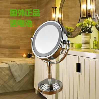 happy house led lighting mirror with light 6 desktop mirror vanity mirror mak. Black Bedroom Furniture Sets. Home Design Ideas