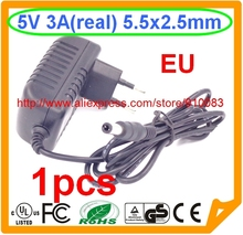 Buy High IC 1PCS Universal AC 100V-240V Converter Adapter Charger DC 5V 3A Power Supply EU Plug AC/DC 5.5 mm x 2.5mm for $4.10 in AliExpress store