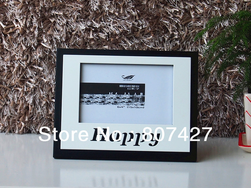 American Style Happy Word Picture Frame Birthday Gift