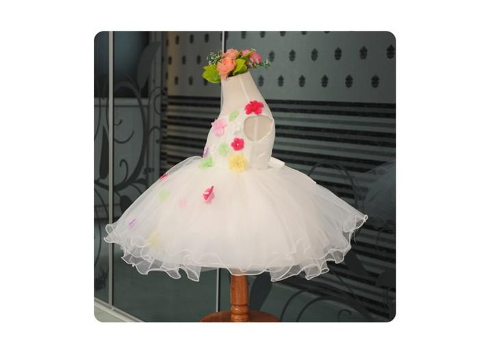 Скидки на ДЕТСКИЕ WOW Детские Платья для Свадьбы Детские Одежда 1 Года день рождения Платье для Девочки Новорожденного-2 Т Vestido Infantil 80133