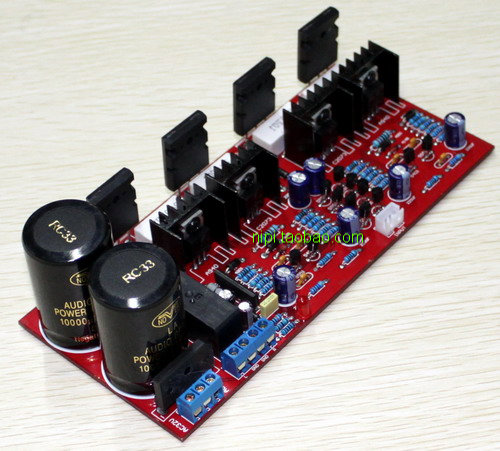 hifi 1943 5200 diy fever 2.0 after the amp bare board audio amplifier 100W + 100W amplifier(China (Mainland))