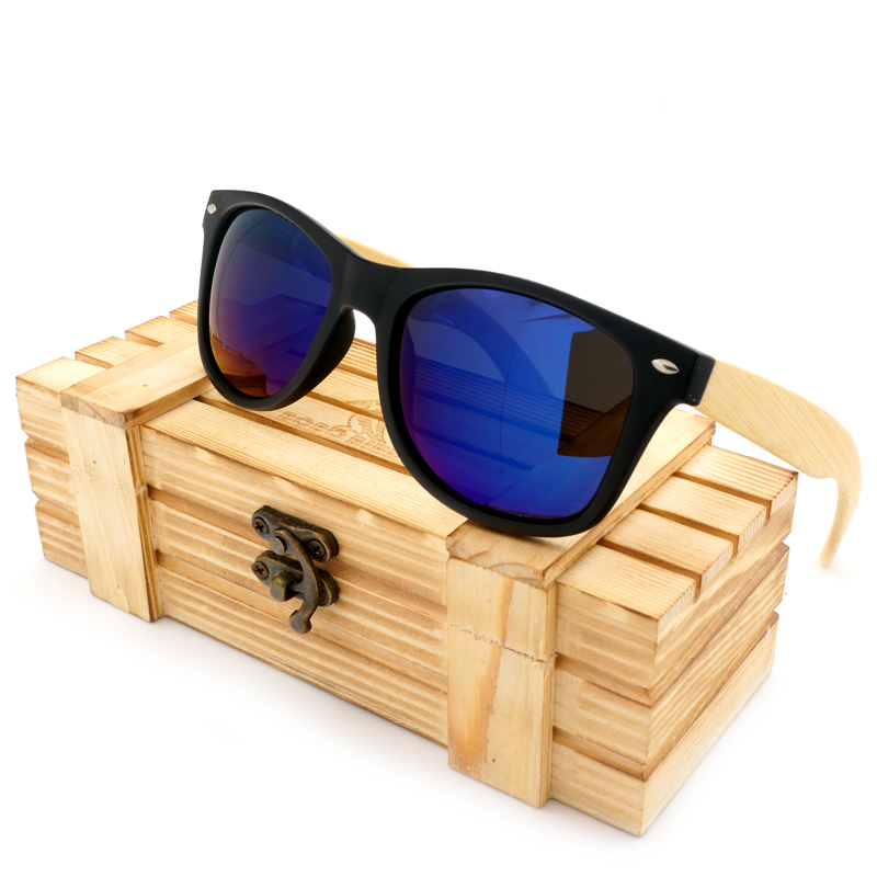 2016 Men's Sunglasses Bamboo Legs Polarized Lens Sun Glasses With Wood Gift Boxes Cool Sunglasses for Friend as Gifts Item(China (Mainland))