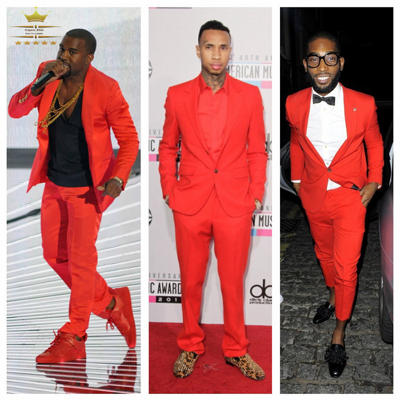 suit chain Picture - More Detailed Picture about Red Mens Tuxedos