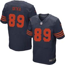 ABC2016 elite Men Chicago Bears 34 Walter Payton Kyle,89 Mike Ditka,17 Alshon Jeffery White Orange navy, 100% stitched logo(China (Mainland))
