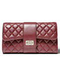 teemzone 2016 Assured Quality Cow Leather Ladies Hot Plaid Women Messenger Crossbody Shoulder Bags Saddle Beauties
