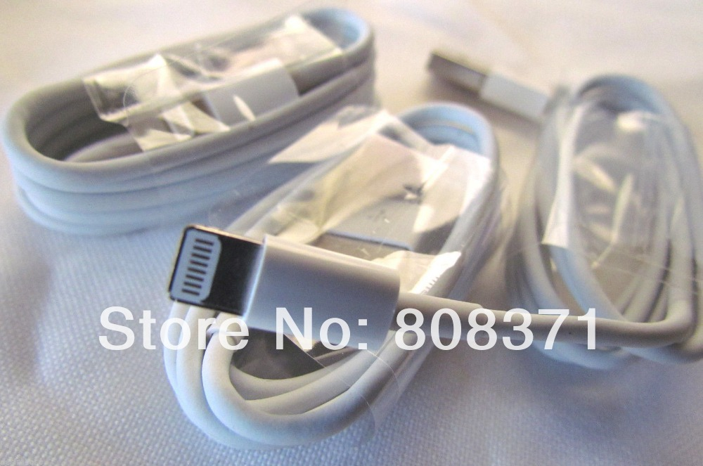 USB Data Line Sync Charger Cable Adapter Cables iPhone 5 5S 5C 1m 3 feet - ShenZhen HongTai Electronics CO.,LTD store